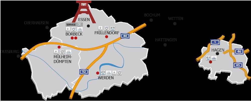 Standorte Team Offnungszeiten